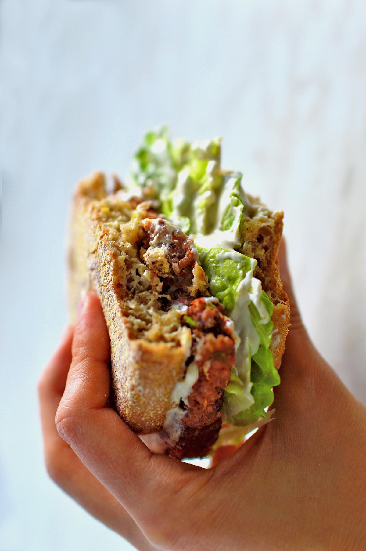 Oil Free Veggie Burger