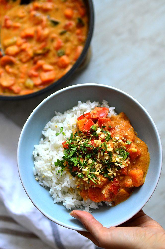 Vegan Oil Free Thai Curry