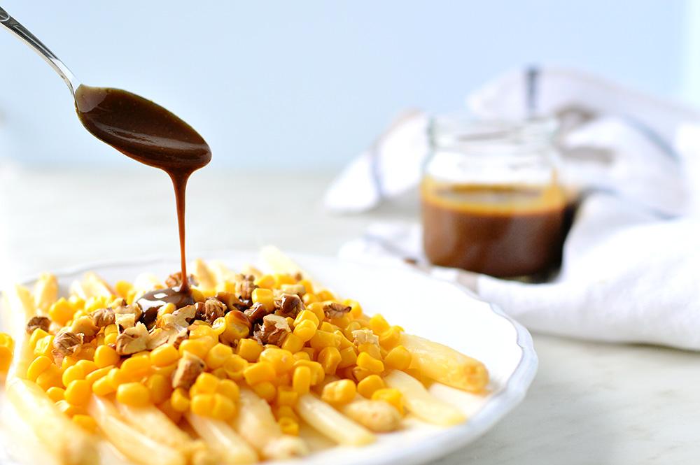 Oil Free Vegan Sweet Mustard Dressing