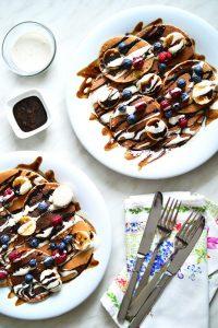 Vegan Oat Pancakes
