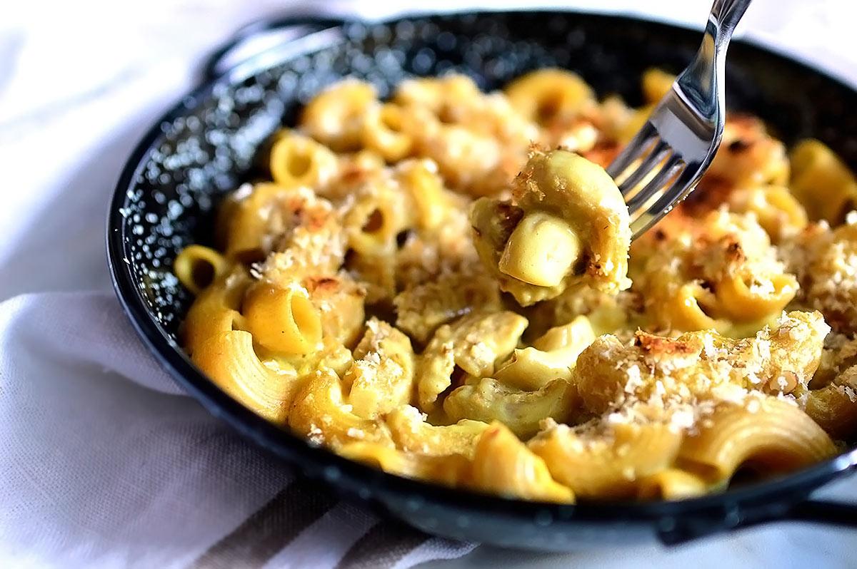 Vegan Low-Fat Mac & Cheese
