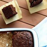 brownies de chocolate sin gluten
