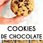 galletas veganas con chips de chocolate
