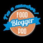 Logo Food Blogger Pro