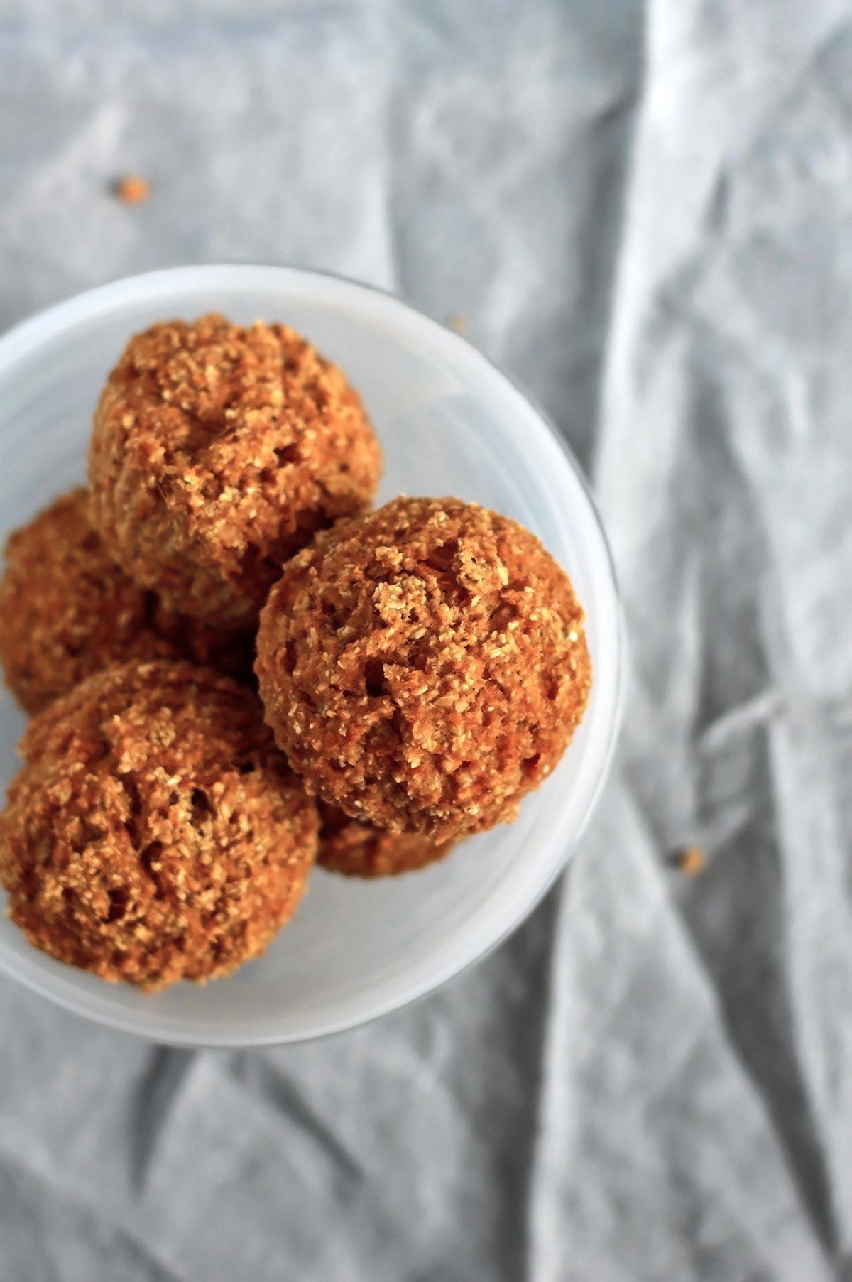 muffins en un bol