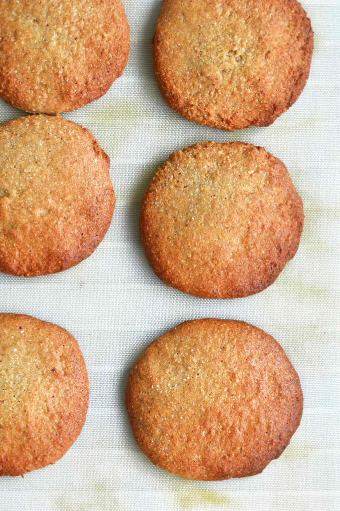 galletas veganas sin gluten