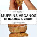 Muffins de naranja y yogur